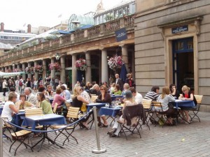 Summer in Covent Garden Piazza