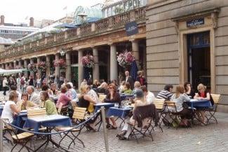 Summer in Covent Garden Piazza