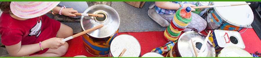 musical instruments from recycling